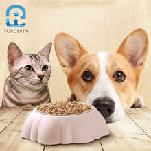 FURGERIN Dog Bowl cat bowl Cat Food Water Pet Feeder for dog food container Pets Bowls Stainless Steel PP 400ml