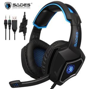 SADES Gaming Headset 3.5mm Ste