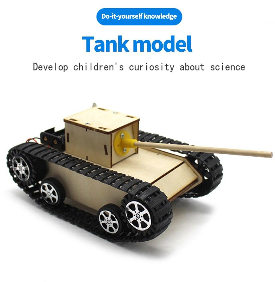 Набор материалов DIY Модель робот умный Танк шасси модель комплект для DIY стволовых образования собранный
