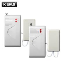 2 шт/комплект Беспроводной проникновения воды утечки Сенсор детектор утечки воды 433 мГц для Kerui сигнализации Системы