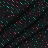 LEO&LIN Heavy 3D Silk Spinning Striped Jacquard Brocade Fashion Dyed Fabric Clothing