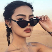 2018 Fashion Cute Sexy Ladies Black Cat Eye Sunglas