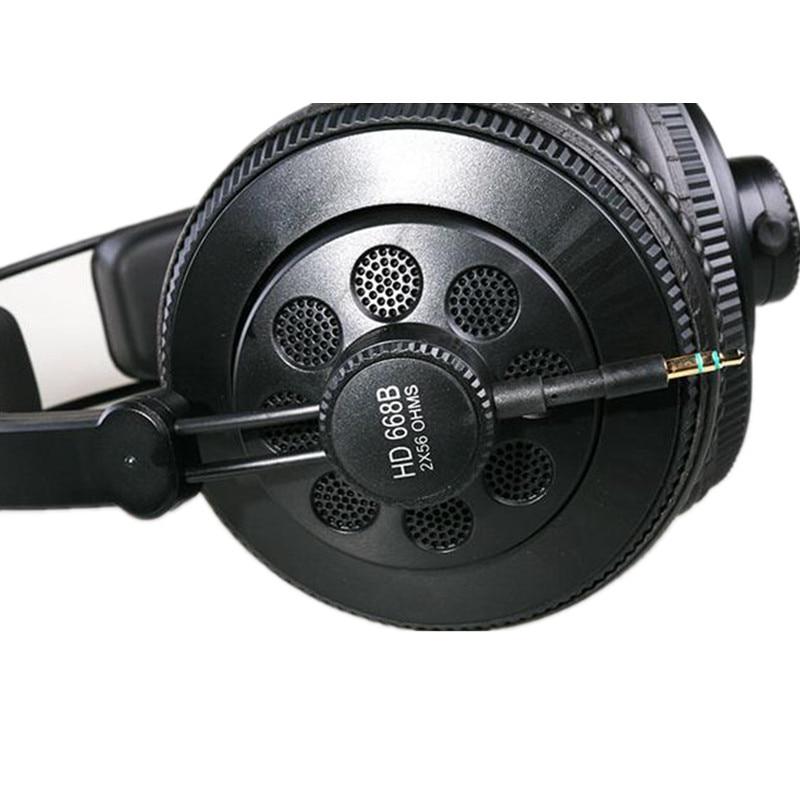 Superlux HD668B Headphones Professional Semi-open Studio Standard Dynamic Headset Monitoring For Music Detachable deep Bass