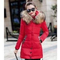 STAINLIZARD Warm Winter Coat Women Parka Casual Female Coats Ladies Outwear Fashion Women Clothing Warm Winter