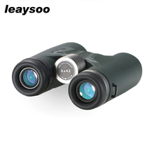 LEAYSOO 10X42 Binocular HD MC-Green Film Nitrogen Waterproof Low light level night vision Camping Hunting