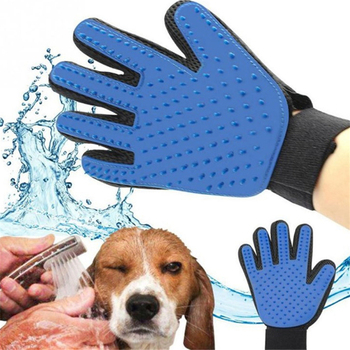 Pet Silicone Deshedding Brush Glove For Pet Cleaning Massage Grooming Comb Hair Cleaning Brush Washing Cleaning Massage Glove