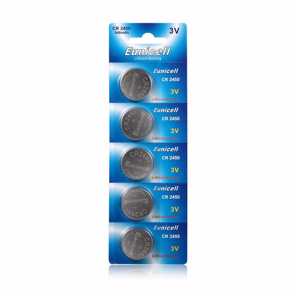 25 шт./лот = 5 пакетов CR2450 <font><b>2450</b></font> ecr2450 kcr2450 5029lc lm2450 кнопки сотового монет литиевых Батарея для часов, xinlu бренд Батарея