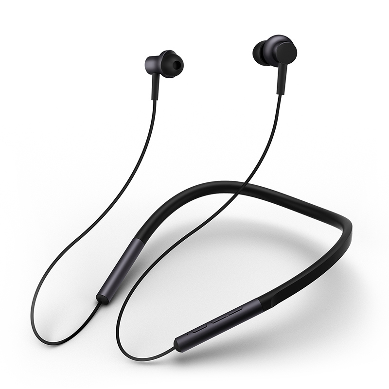 Xiaomi Bluetooth Collar Earphones Headset Sport Wireless Bluetooth Headphone In-Ear Magnetic Mic Play Dual Dynamic HeadphoneXiaomi Bluetooth Collar Earphones Headset Sport Wireless Bluetooth Headphone In-Ear Magnetic Mic Play Dual Dynamic Headphone