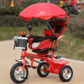 Children's tricycle one key rotary seat bicycle baby trolley 1-5 baby Bicycle tricycle