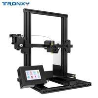 Tronxy XY 2 Полный металлический Лидер продаж 3d принтер семья работает 3,5 дюйм(ов) сенсорный экран с Тепло Кровать