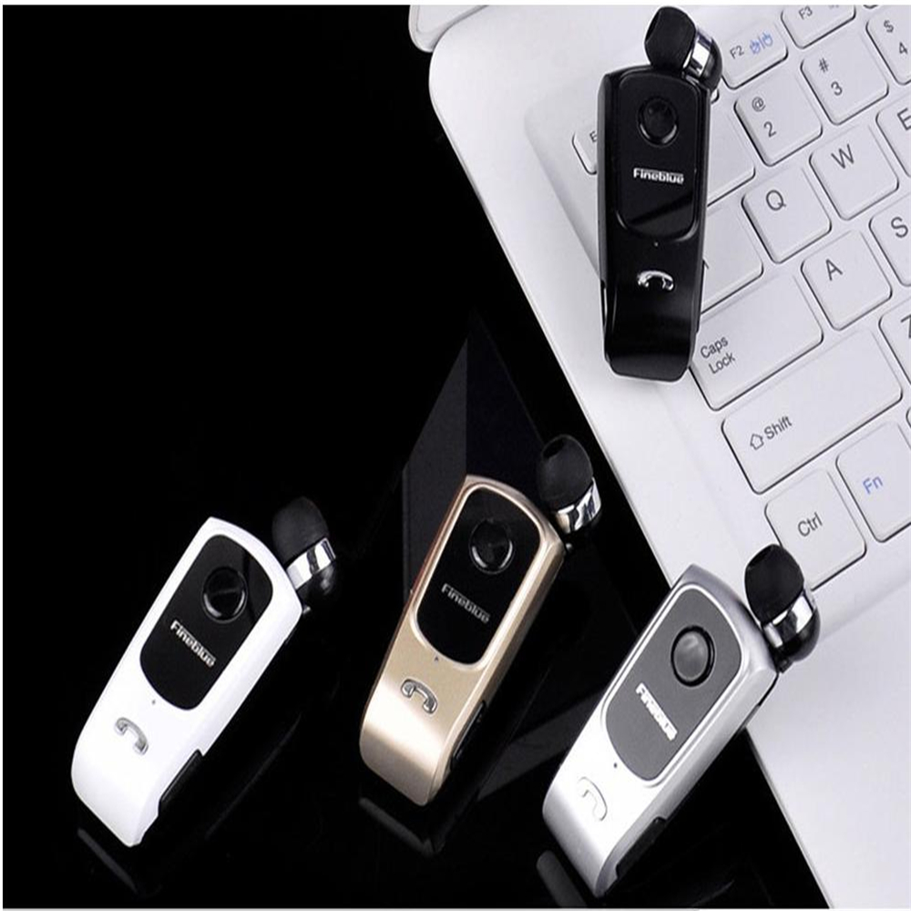 FineBlue F920 Wireless auriculares driver Bluetooth Headset for Phone Calls Remind Vibration Wear Clip Sports Running Earphone