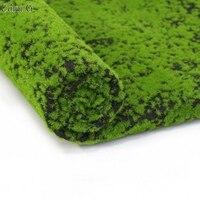 1MX1M Artificial Moss Turf DIY Grass Lawn Landscape Fairy Garden Simulation Plants Hotel Interior Renovation Wall Decor 7 Color