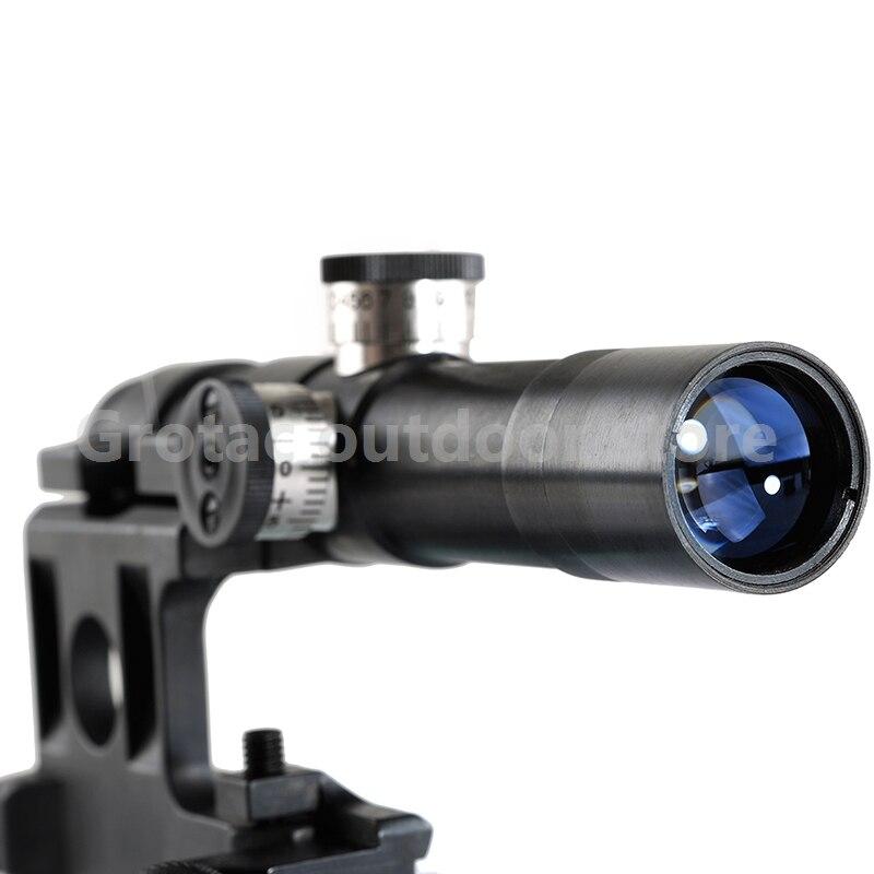 OPTIQUE De Chasse Tactique SVD Dragunov Optique 4x20 Illuminé Rouge Portée de Fusil Airsoft