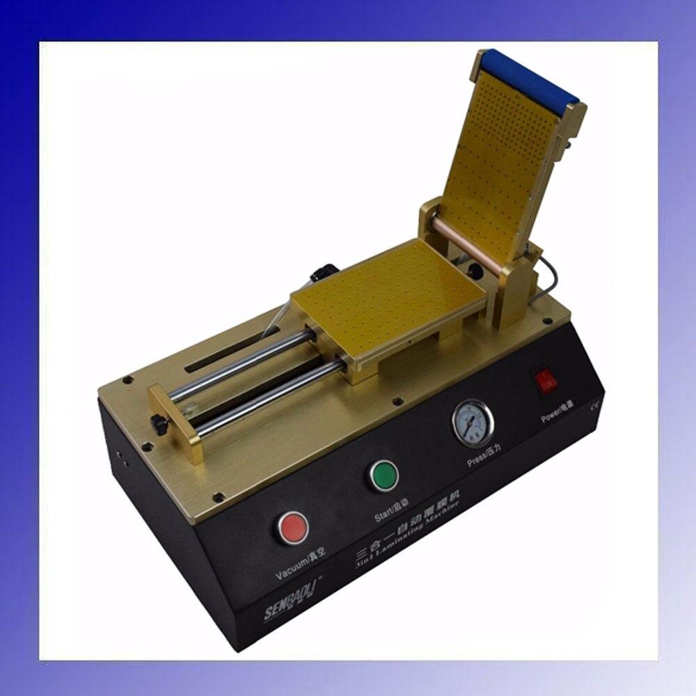 3 in 1 Vacuum OCA Film Laminating Machine Built-in Vacuum Pump For Phone Repair цена 2017