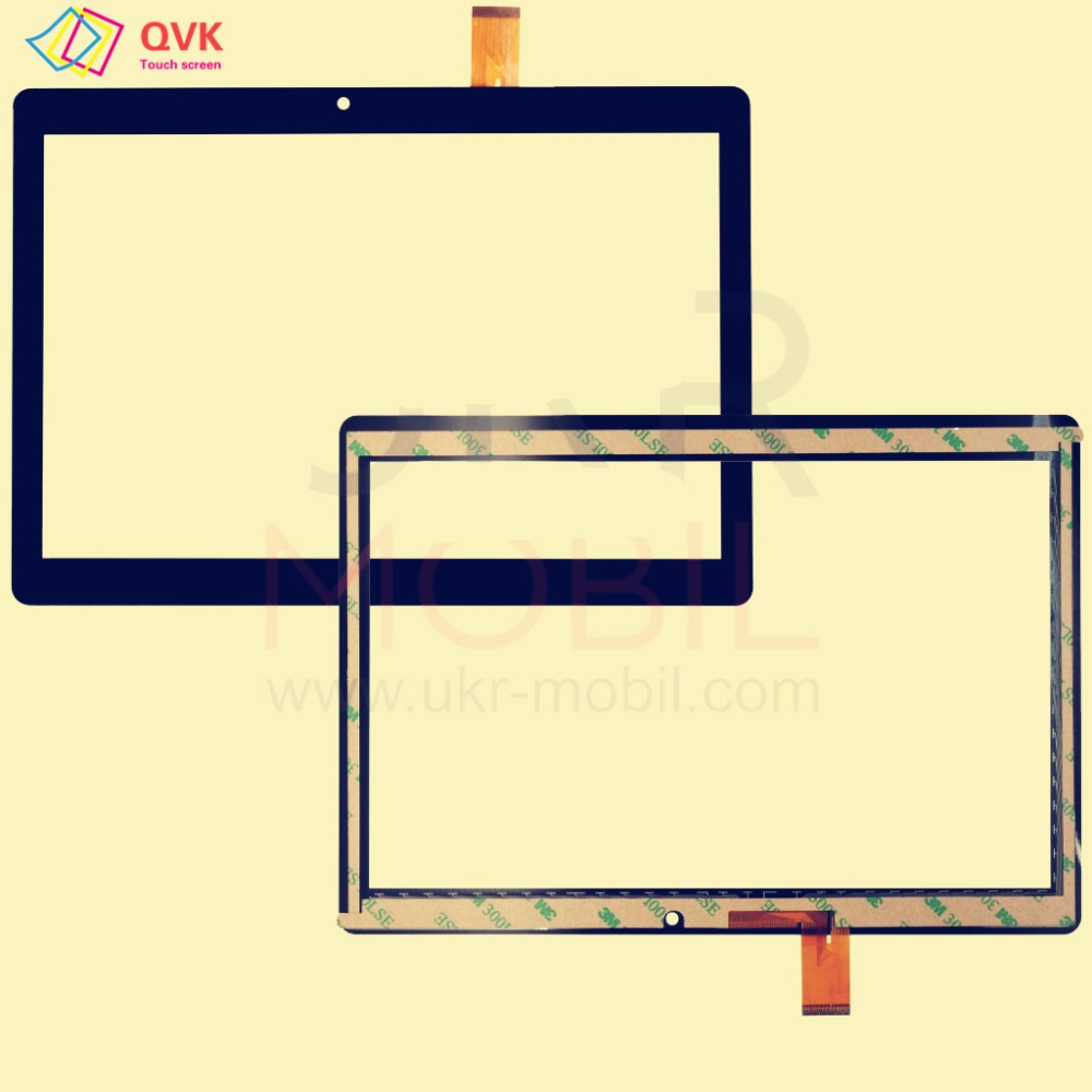 Black 10.1 Inch For Bravis NB106 3G Tablet Pc Capacitive Touch Screen Glass Digitizer Panel Free Shipping