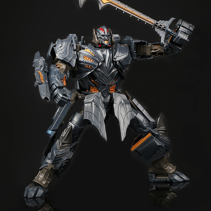 Transformation TF 5 Movie The Last Knight Galvatron Voyager MP36 Plane Model Alloy Action Figure Robot Toys 19CM image