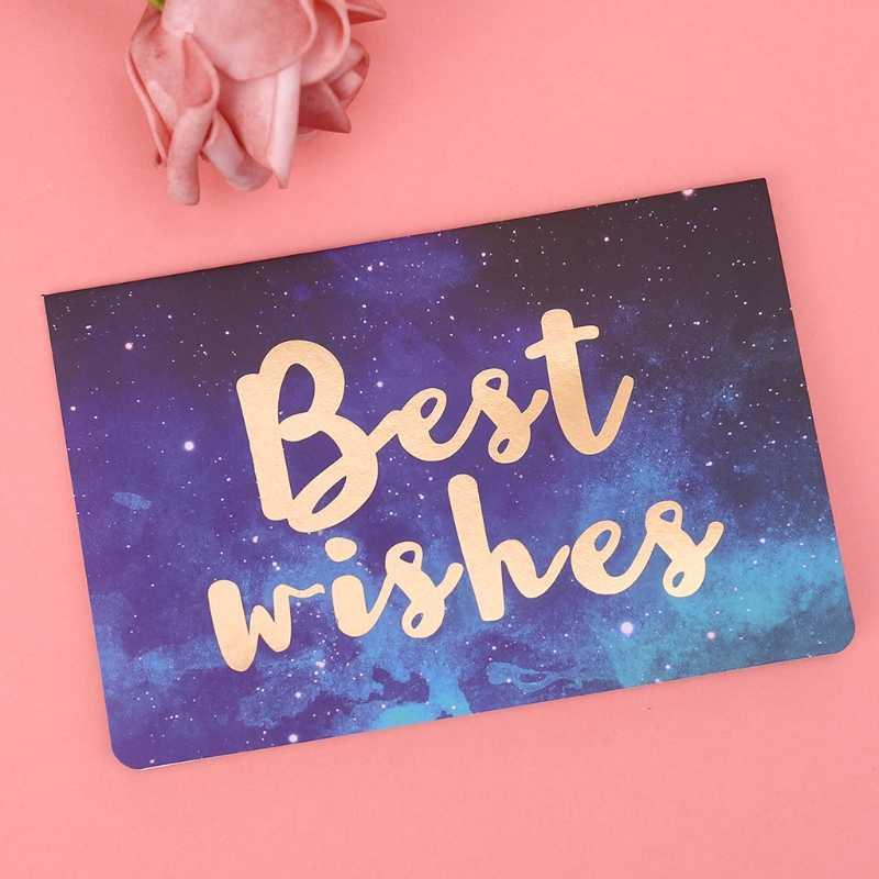 Красивые поздравительные открытки с звездным небом бронзовые буквы за спасибо