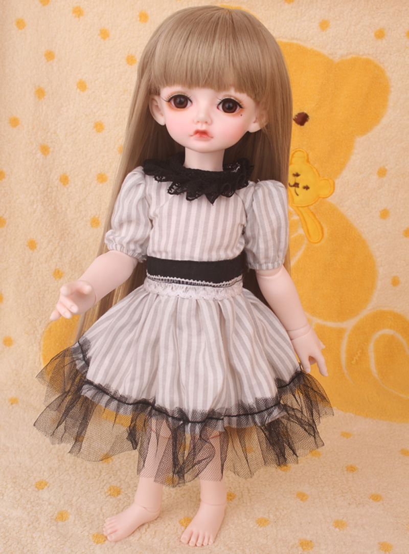 1/3 1/4 1/6 BJD Doll SD Lovely Dress Clothes DIY BJD Dress For Girls Birthday Gift Free Shipping