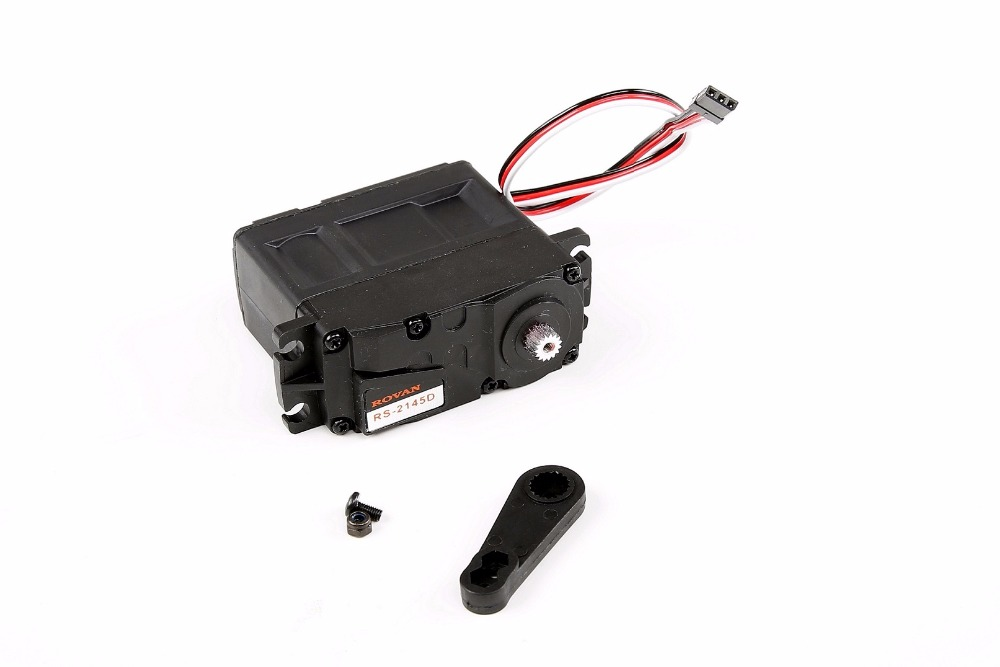 45KG digital servo with metal gear for 1/5 HPI Baja 5b ss Rovan Kingmotor FG MCD RC car 45kg metal gear plastic shell digital steering arm for 1 5 hpi baja 5b 5sc 5t rc car parts