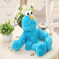 "1pcs 12"" 30cm Sesame Street Soft Plush Doll toys Blue hand puppet Elmo/Cookie Monster/Grover"