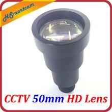 """חדש 1/2 """"HD 50mm אור כוכבים CCTV IR MTV עדשת m12 הר עבור AHD CVI TVI אבטחת וידאו מצלמות f1.2 9 תואר ארוך צפייה מרחק"""