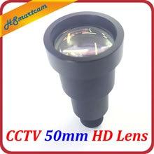 New 1/2″ HD 50mm Starlight CCTV IR MTV Lens m12 Mount For AHD CVI TVI Security Video Cameras F1.2 9 Degree Long Viewing Distance