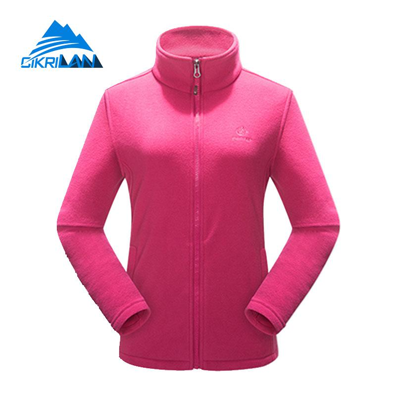 New Ladies Sport Camping Climbing Hiking Outdoor Jacket Women Long Sleeve Thermal Polar Fleece Coat Trekking Casaco Feminino