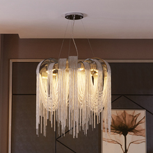 New design LED aluminum chandeliers luxury light D650mm Gold/silver can be customized
