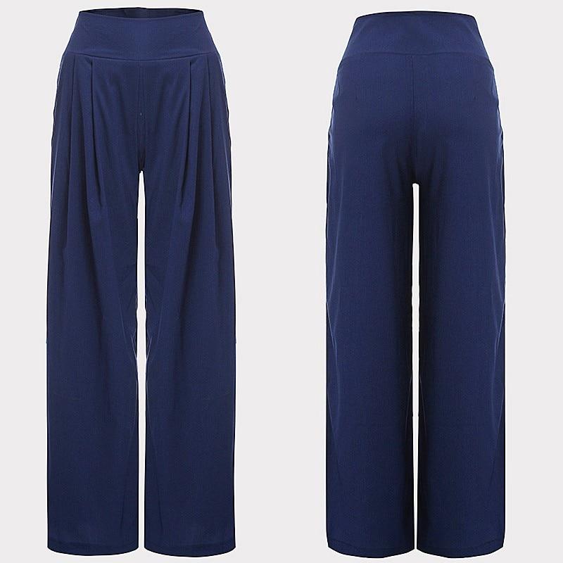 e14ce86114a7 2018 Summer Pants Women Wide Leg Pants High Waist Sexy Zipper Chiffon Long  Trouser Dance Party Pantalone Mujer Palazzo Pants 3XL-in Pants   Capris from  ...