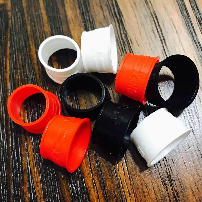 Free Shipping(10pcs/lot)badminton Racket Rubber Ring/badminton Racquet/overgrip Rubber Ring