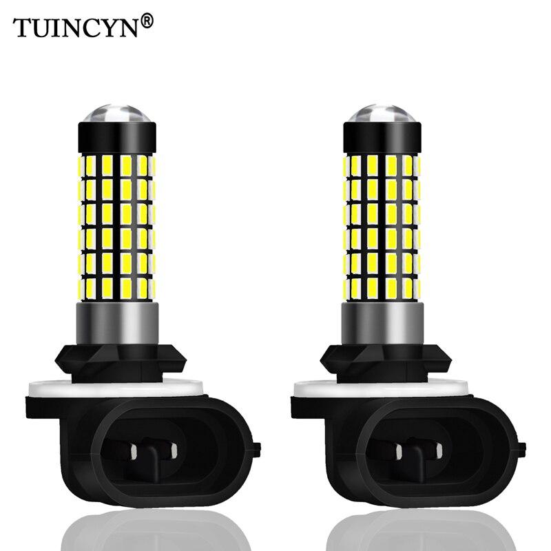 High Bright H27W//2 27w Super White Xenon Headlight Bulbs 12v For Car Auto* 881