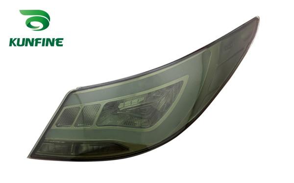Пара KUNFINE автомобиля задний фонарь на Хундай акцент/верна 2010-2013 стоп-сигнал с поворотом световой сигнал