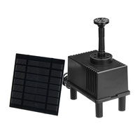 180L/h Mini Solar Panel Powered Water Pump Fountain Pool Water Pump Garden Plants Landscape Pond Roakey Watering Kit