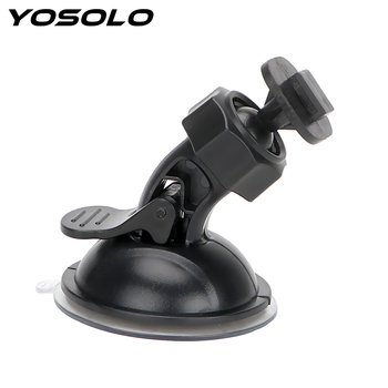 YOSOLO Car Driving Recorder Bracket for Xiaomi YI GoPro Car Holder Sport DV Camera Mount 360 Degree Rotating DVR Holder image