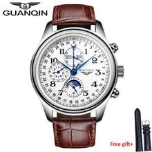 Original Luxury watches men Waterproof Men automatic Brand GUANQIN GQ20022 sapphire famous hours man wristwatches