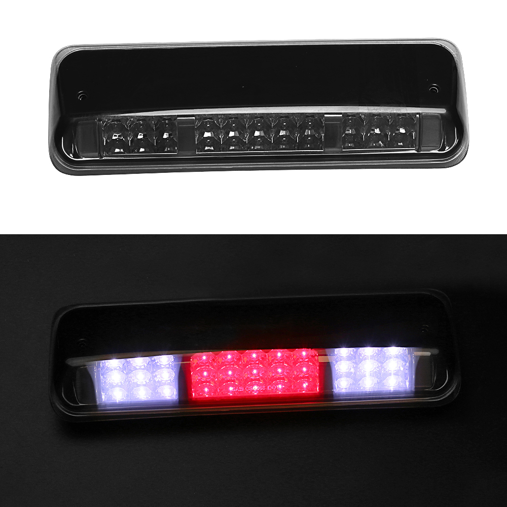 Rear High Mount Third Brake Light for 2004-2008 Ford F-150 F150 Dual Row LED 3rd Brake Light/Cargo Light Red/White LED for f150 raptor f 150 led tail light rear lights for ford 2008 2012 year smoke black sn