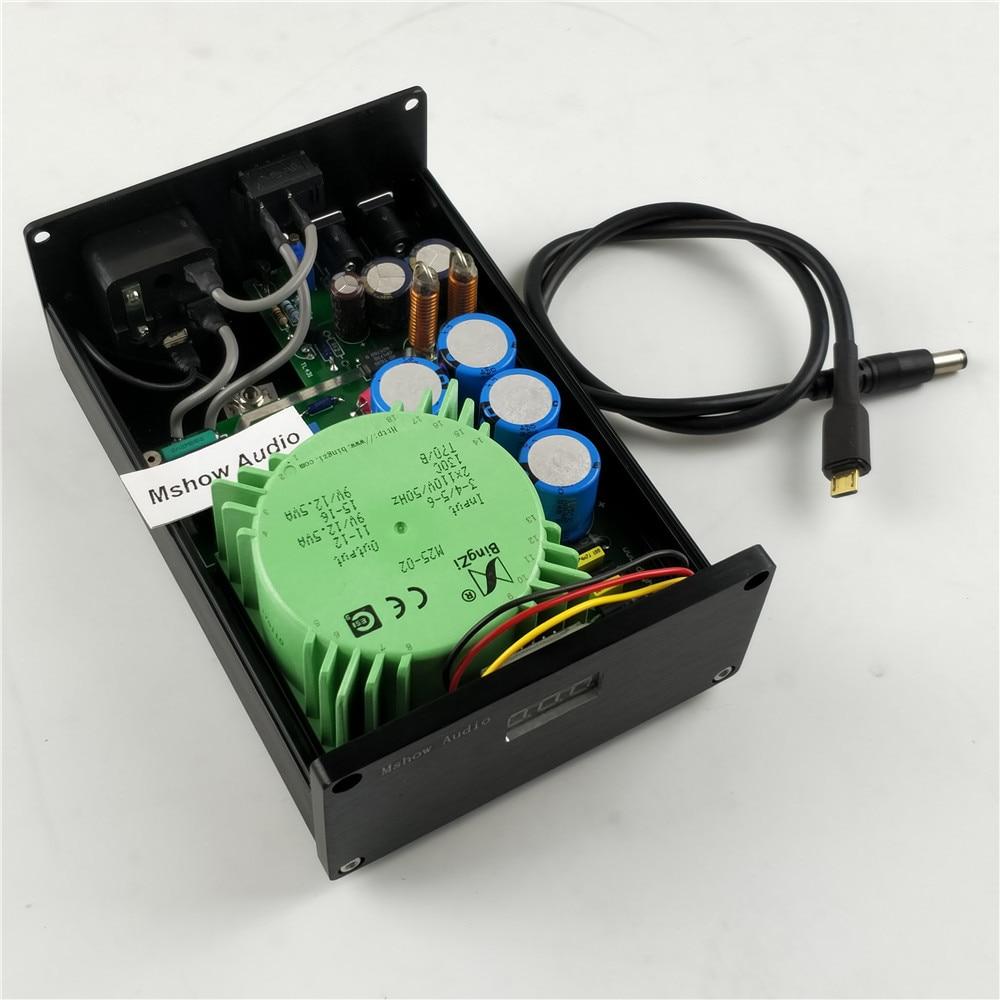 Micro Usb Dc Kabel & 15va Oder 25va Freies Verschiffen Heim-audio & Video Verstärker Mshow Hifi Audio Lineare Stromversorgung Lps Ausgang Dc 5 V FÜr Raspberry Pi 3