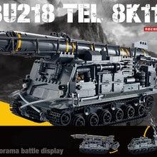 IN STOCK XINGBAO 06005 1750Pcs Military Series The 8U218 TEL 8K11 Set Building Blocks Bricks Educational