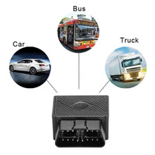 Realtime GPS Tracker 16PIN OBD Mini Plug Play Car GSM OBD II GPS Locator With Software/APP