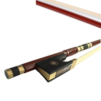 Hot Sale Violin Bow Brazil Wood Jujube Frog Arbor Horsehair Violin Accessories1 8 1 4 1
