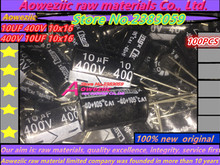 Aoweziic {100 PCS} (10 UF 400 V 10x16 400 V 10 UF) (10 V 1000 UF 8x20 1000 UF 10 V 8*20) (16 V 1000 UF 10x20 1000 UF 16 V 10*20)