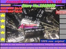 Aoweziic {100 STKS} (10 UF 400 V 10x16 400 V 10 UF) (10 V 1000 UF 8x20 1000 UF 10 V 8*20) (16 V 1000 UF 10x20 1000 UF 16 V 10*20)