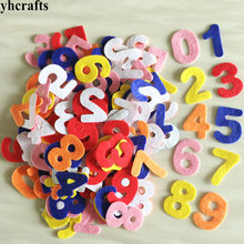 150PCS LOT 0 9 numbers felt stickers Teach your own Self learning Kindergarten crafts ornament Early