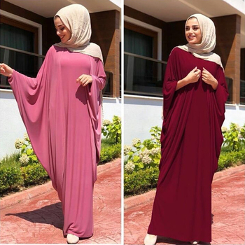 Kaftan Abaya Dubai Islam Turkey Long Muslim Hijab Dress Abayas For Women  Caftan Marocain Turkish Islamic Clothing Jilbab Moslima