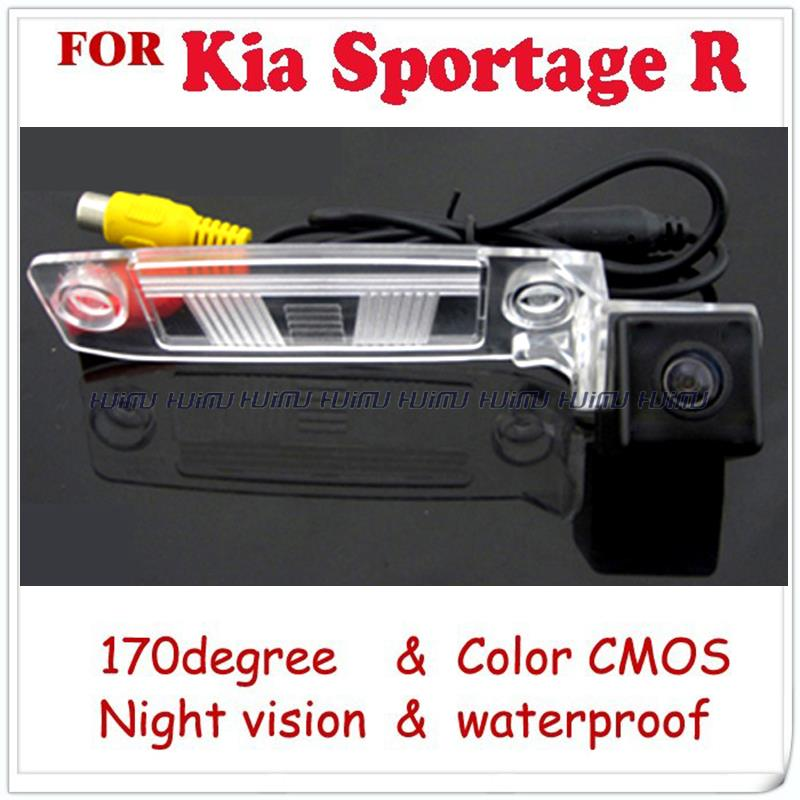 wire wireless Car Rear View camera for Kia Sportage R KIA K3 Sonata NF NFC YF CVVT-i Transform Reverse paking camera