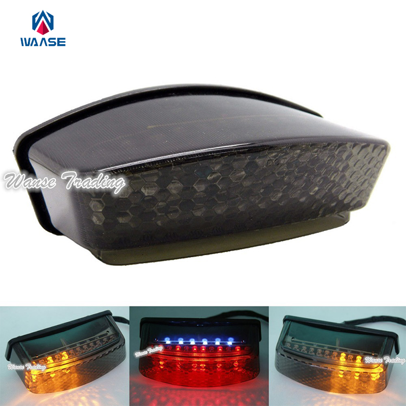 Rear Taillight Tail Brake Turn Signal Integrated Led Light Smoke For 1994-2007 DUCATI Monster 400 400S 600 620 620S 695 750 750S