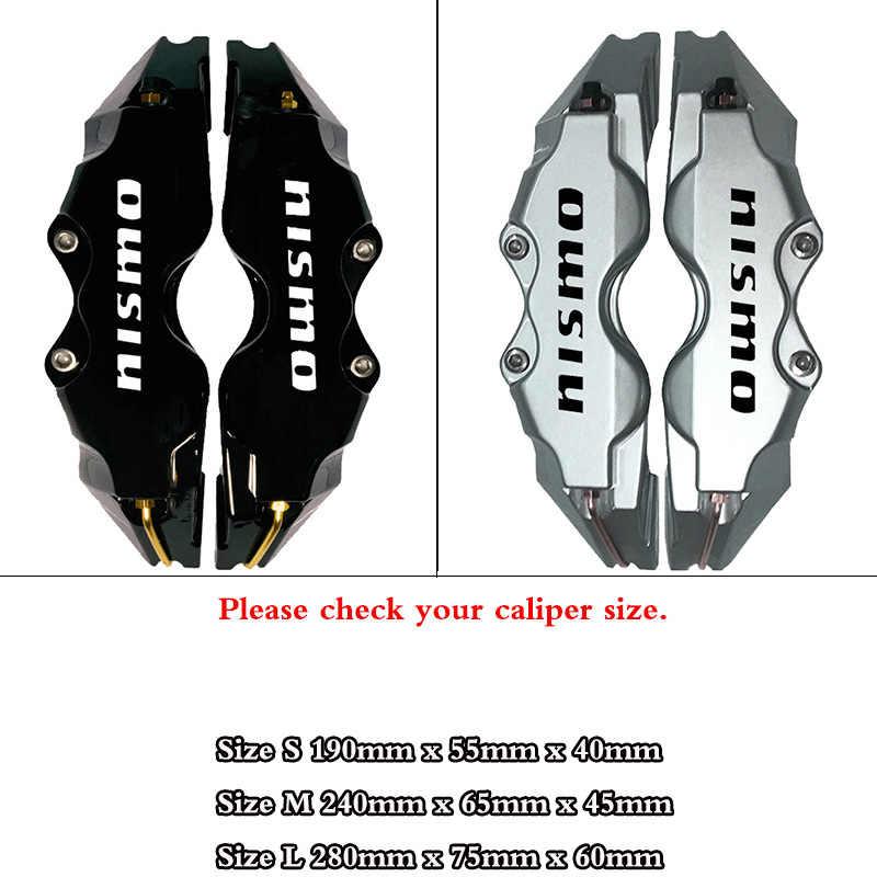Qiilu Pinza de freno kit de cubiertas de pinza de freno de disco universal para coche Decoraci/ón 3D Protector de guarda de pinza de freno