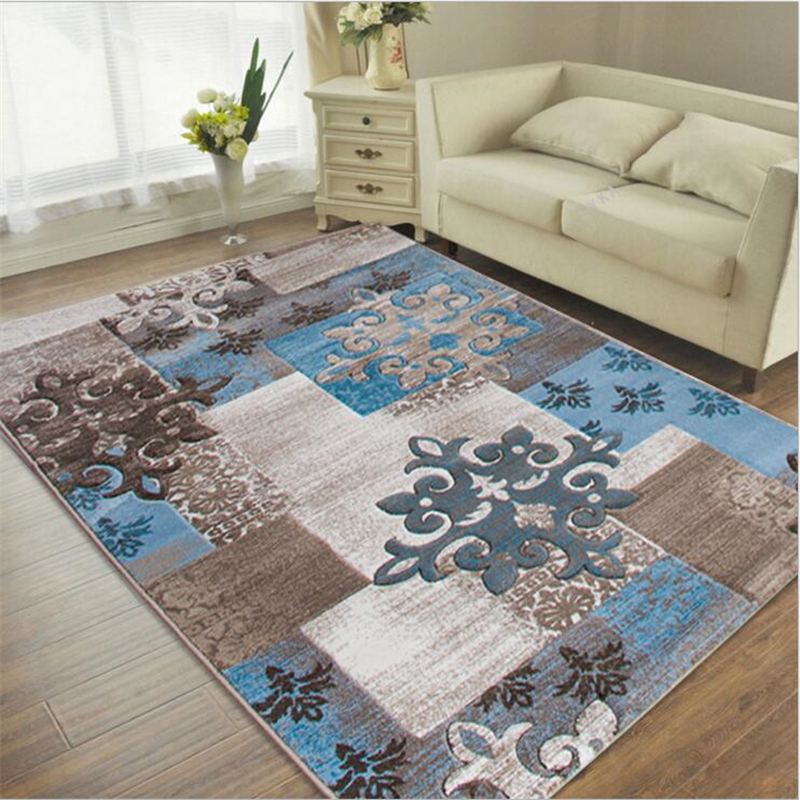 European Style Decorate House Thicker Large Carpets For Living Room Bedroom Rugs Home Carpet Floor Rug Delicate Fashion Door Mat