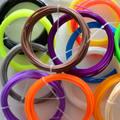 20 Colores (10 M/Color) 3D Materiales de Impresión 3D Filamento Impresora PLA/ABS 1.75mm Para Pen 3D 3D Impresora Precio Al Por Mayor