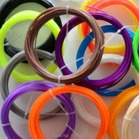 20 Kleuren 3D Printer Filament PLA/ABS 1.75mm 200 M (10 M/Kleur) 3D Printing materialen Voor 3D Pen 3D Printer Groothandelsprijs